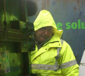 Recycling in all weathers