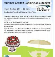 Summer Garden Cooking on a Budget
